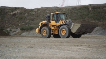 Embedded thumbnail for Drone Video production: Volvo Construction Equipment operating at Road Metals Canterbury quarries